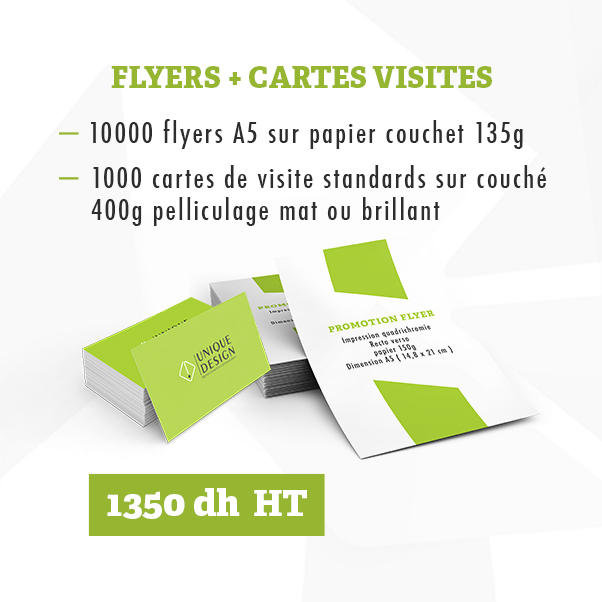 Flyers Et Carte De Visite