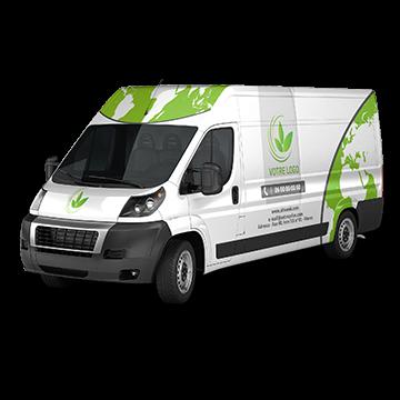 Habillage camions Tanger Tétouan Maroc : Véhicules en vecteur de communication Logotage, lettrage, habillage partiel, habillage total, panneaux magnétiques