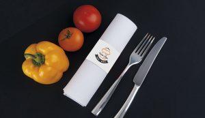 serviette tanger tetouan unique design menu restaurant café Hôtel et Restaurant